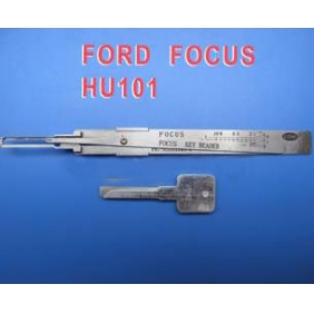 Decoder picks FORD Focus HU101 (first open secondly read)