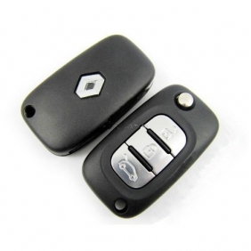 Renault flip remote key 3 button 433MHZ (with ID46)