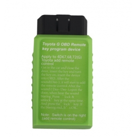 Toyota G OBD Remote Key Programming Device