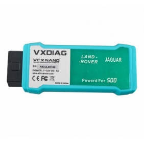 VXDIAG VCX NANO for Land Rover and Jaguar Software V143 WIFI Version