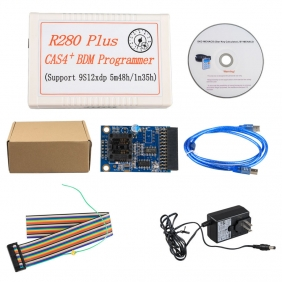 Latest R280 Plus CAS4 BDM Mileage Programmer Support MC9S12XEP100 5M48H 1N35H